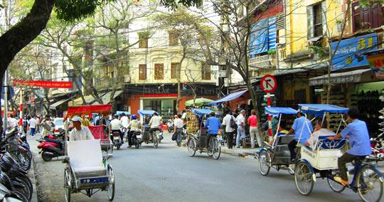 Description: ハノイ旧市街